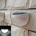 Solar Pátio Gramado Luzes Lâmpada de Parede Ao Ar Livre Paisagem Iluminação À Prova D' Água de Segurança Noite Luzes Branco/Branco Quente
