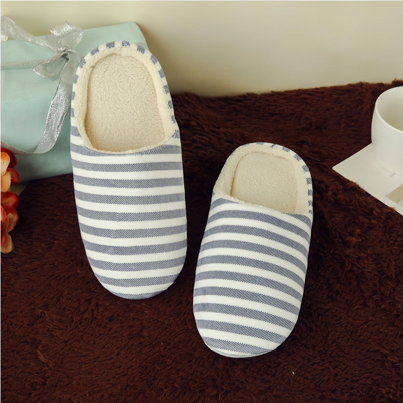 572c3cd055b 2017 Indoor House Slipper Soft Plush Cotton Cute Slippers Shoes Non Slip  Floor