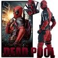 2016 Película Deadpool Superhéroe Deadpool Disfraces Cosplay Ropa Wade Wilson Traje Disfraz de Halloween Superhero