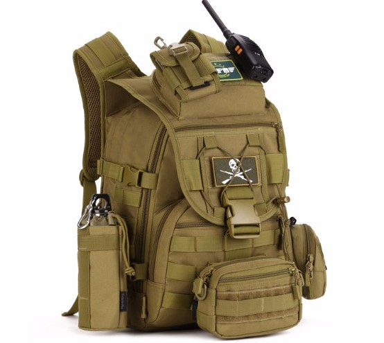 NEW Outdoor Tactical Assault Backpacks Molle System Travel Kits Survival Bag Military Hiking Camping Bag Molle Pack Backpack