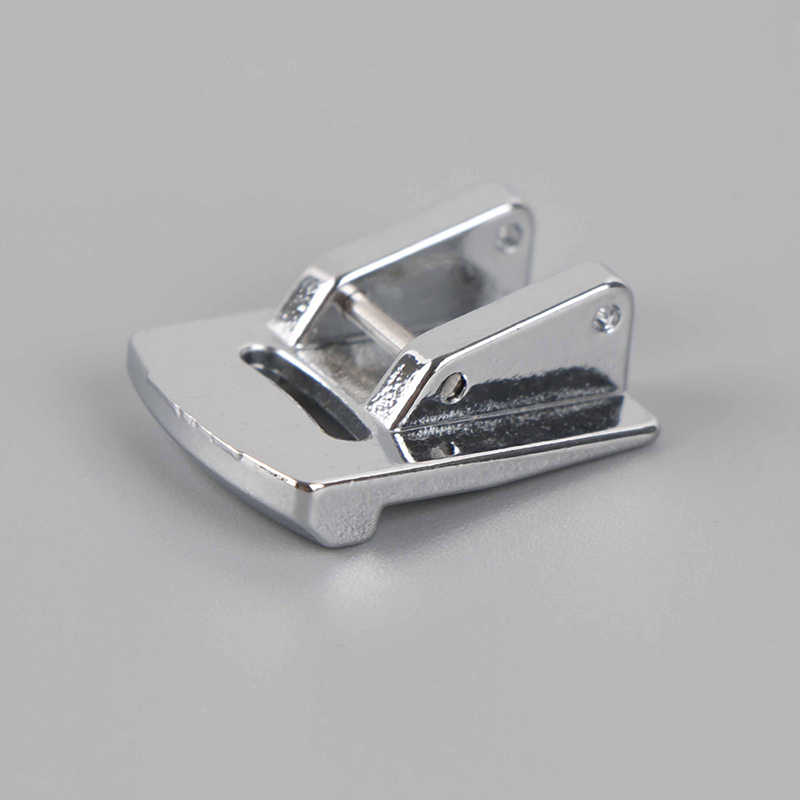 1 PC srebrny Tone walcowane Hem Curling do szycia stopka dociskowa dla MASZYNA DO SZYCIA Singer Janome