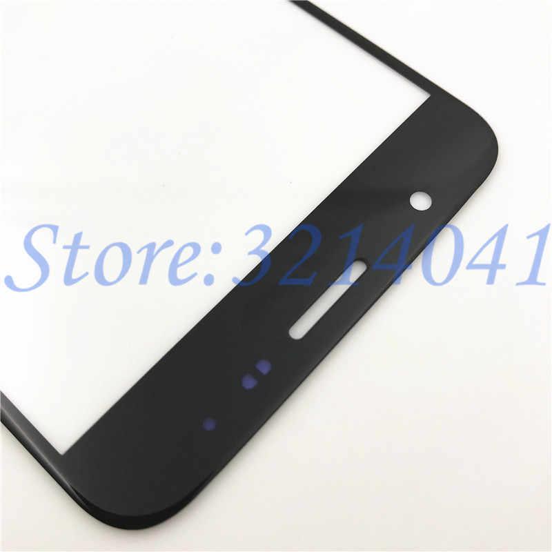 Tela Sensível Ao Toque Para Samsung Galaxy J7 pçs/lote 10 Prime G610 G610F Frente Painel de Tela de Toque LCD Outer Lente de Vidro Reparação parte