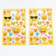 20pcs Emoji Loot Bags Kids Birthday Wedding Party Supplies Theme Happy Gift Return