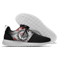 Club Corinthians Paulista Brazil Running Sneaker mens women Lightweight Walking Comfort Sports Running Shoes Lace Up