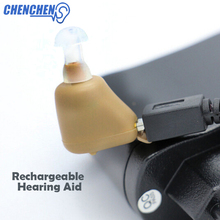 Ear Hearing AID Adjustable Light Invisible In Tone Clear Rechargeable AIDS Care