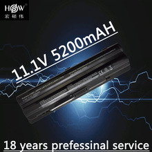 5200mAh laptop Battery for Dell XPS 14 15 17 L401x L501x L502x L701x L702x 312-1123 312-1127 J70W7 JWPHF R795X WHXY3 akku цена в Москве и Питере