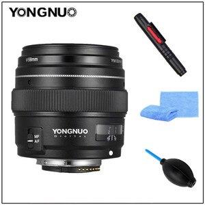Image 2 - 용인 100MM YN100mm F2N 대형 조리개 AF/MF 중형 망원 프라임 렌즈 Nikon D7200 용 D7100 D7000 D5600 D5300 d3400 d3100