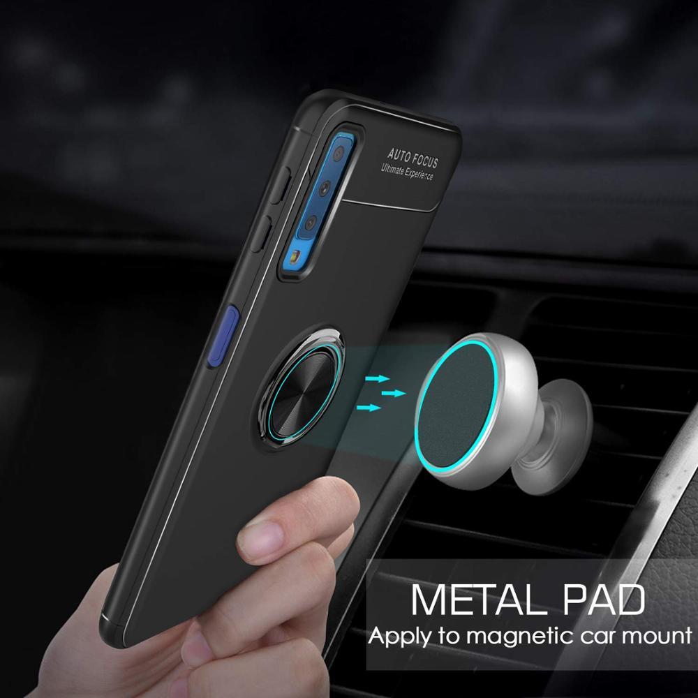 Case For Xiaomi Redmi Note 9 Pro Max 9s Cover Ring Kickstand Shockproof Case For Xiaomi Redmi Note 8t 8 Pro K30 Pro Cover