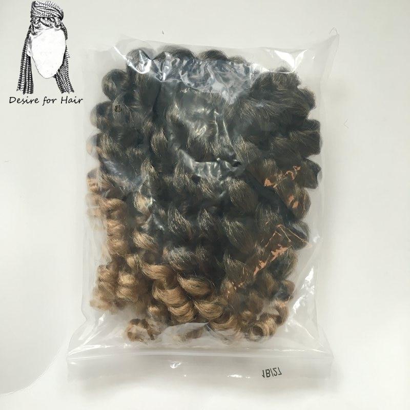 Önskning för hår 1pack 8inch 70g 20strands per förpackning Höxa - Syntetiskt hår - Foto 4