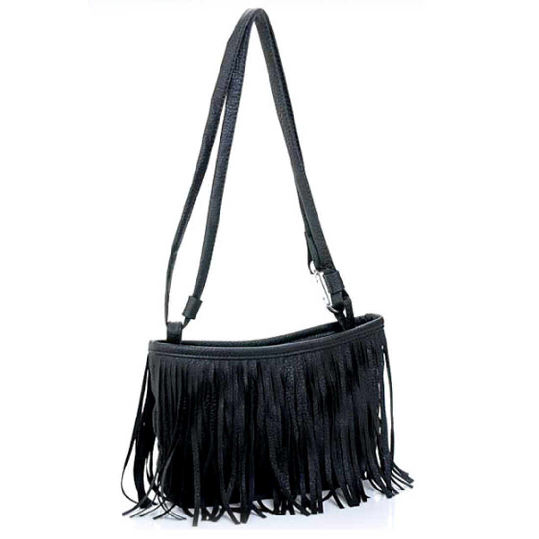 Hot Women Mini PU Leather Bags Women's Punk Satchel Tassel Fringe Shoulder Messenger Bags Crossbody Bags Femininas
