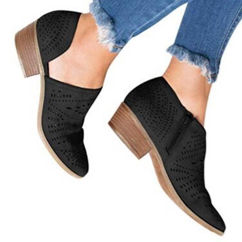 Frühling Herbst Explosionen Europa Amerika Beliebte Freizeit Frauen Sandalen Größe 35-43 Hohl Niedrigen absätzen Schuhe