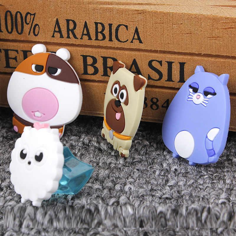 1 Piece Cartoon Creative ילדים Kawaii בעלי חיים חיות מחמד כלב ארנב חתול בית מתנה לטובת אספקת קישוט חג המפלגה קיד DIY