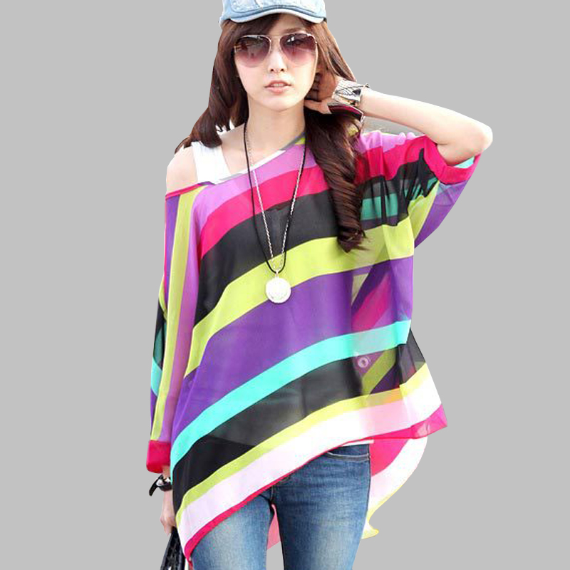 5c117214856 Women Blouses Plus Size Clothing Summer 2018 Novelty Bohemian Shirts Blusas  Femininas Bohemian Style Women s Chiffon Tops Tees-in Blouses   Shirts from  ...