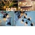 20 футов 6 см лампочка глобус струнные огни с прозрачной лампой задний двор патио огни винтажные лампы декоративные наружные гирлянды свадьб...