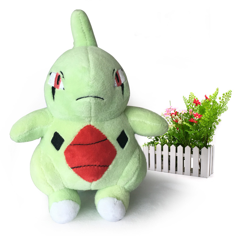 50 pcs/lot 22 cm Standing Larvitar Japanese Animal Soft Dolls Plush Doll Hot Toys Great Gift For Kids