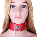Sex Female PU Leather Slave Collar Harness Adult Bondage Toys BdSM Fetish Wear Sex Leather Mask For Couples Cosplay Sex Products