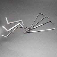 Freies Verschiffen 7 stücke Schlosser Werkzeuge Reihe Spannung Werkzeuge Edelstahl Hohe Qualität  Lock Pick Set für Praxis Gebrauch-in Schlosserbedarf aus Werkzeug bei