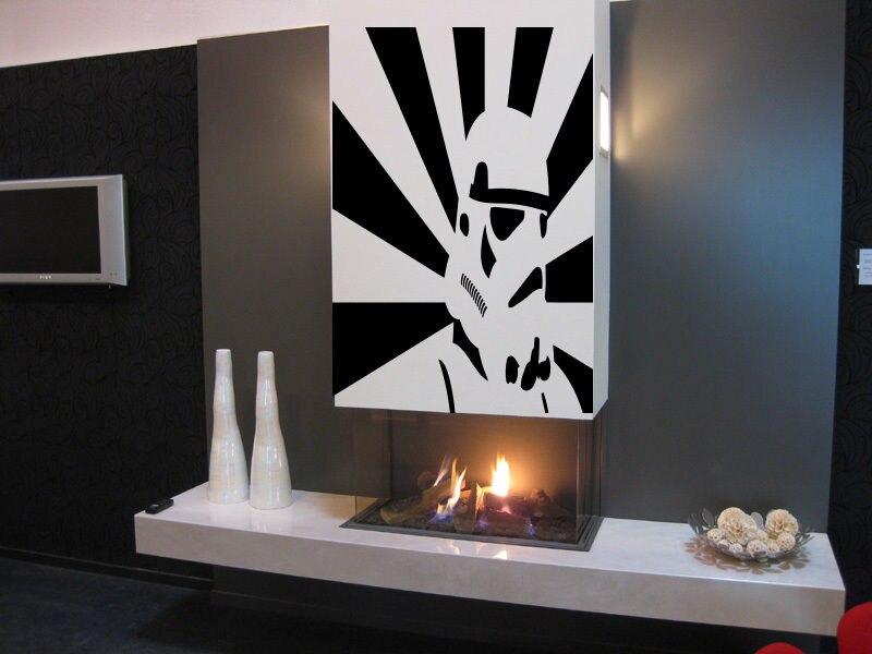 Storm Trooper Star Wars Nursery Room Wall Sticker Decal