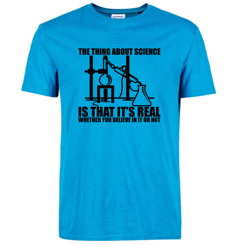 Lasting Charm Big Bang Theory fashion Funny Science Believe chemistry Men t shirts T-shirt streetwear tops mma t shirts