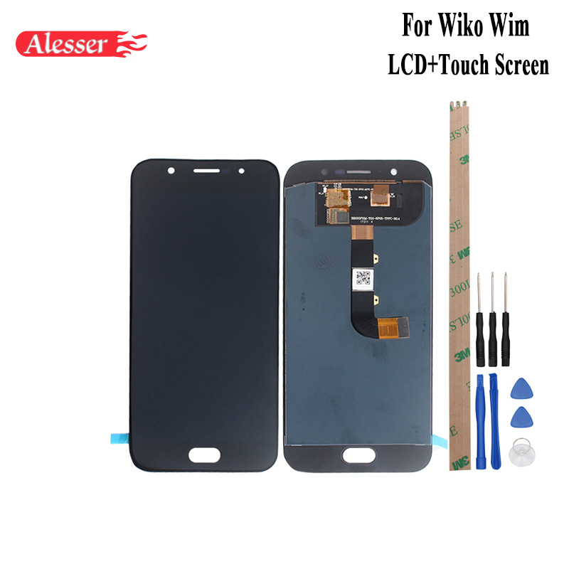 Alesser For Wiko Wim LCD Display and Touch Screen Assembly Repair Parts +Tools +Adhesive For Wiko Wim Mobile Phone AccessoryAlesser For Wiko Wim LCD Display and Touch Screen Assembly Repair Parts +Tools +Adhesive For Wiko Wim Mobile Phone Accessory