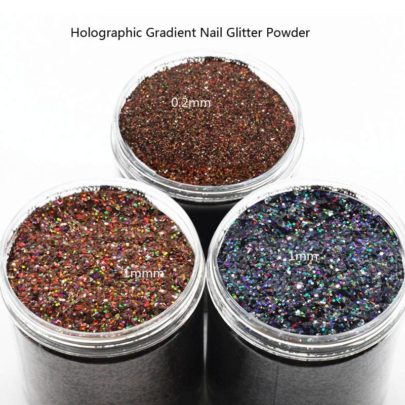 Schönheit & Gesundheit Angemessen 1 Box 10 Ml Holographische Gradienten Nagel Glitter Pulver Glänzende Glitter Pigment Staub Pulver Maniküre Nail Art Dekoration 0,2-1mm RegelmäßIges TeegeträNk Verbessert Ihre Gesundheit