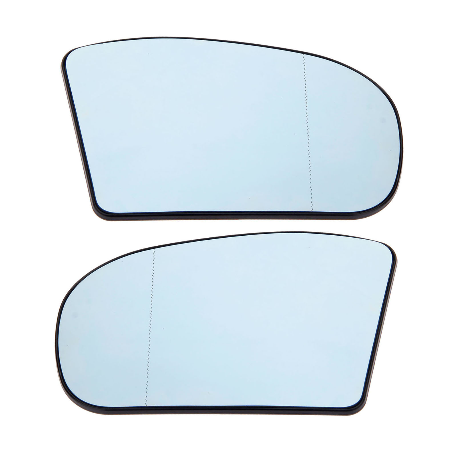 Yetaha 2PCS Wide Angle Left&Right Heated Wing Door Mirror Glass For Mercedes Benz E/C Class C230 C320 E350 E500 203810012 Blue