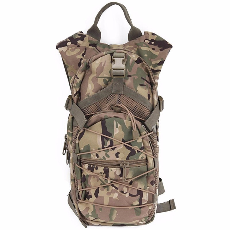 Multifunctional outdoor riding <font><b>hydration</b></font> pack tactical camouflage backpack sports bag mountaineering