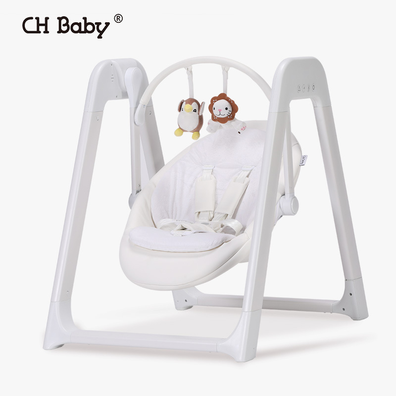 CHBABY Baby Electric Swing Rocking Chair Multi-purpose Baby Nest Baby Cradle Bed Chaise Longue Children Appease Baby Hammock