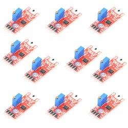 مصنع بالجملة شحن مجاني KY-028 100 قطع digital temp sensor module
