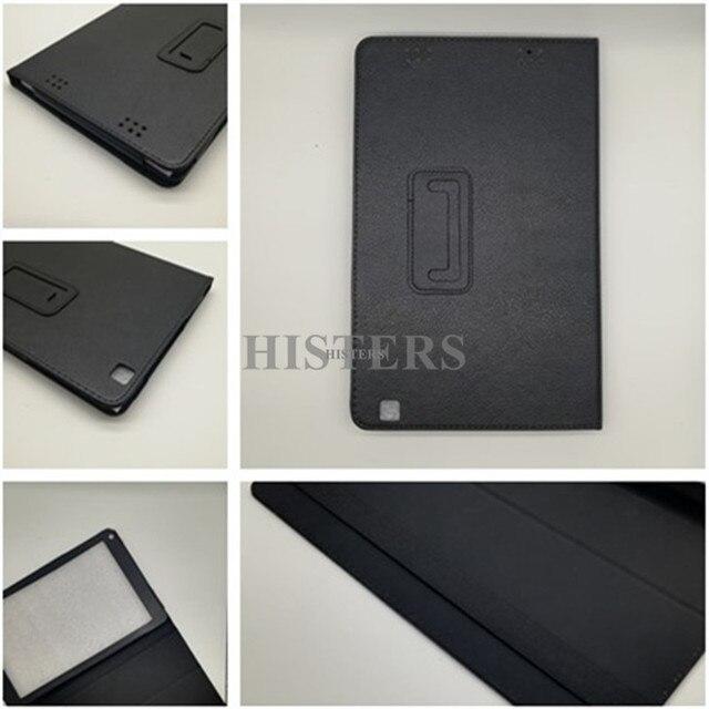 HISTERS из искусственной кожи Обложка Digma для CITI 1903 4G 10,1 планшет Folio стойка защитный чехол черный