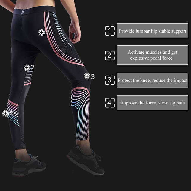 d26a24e809f0c placeholder UABRAV Hot Sale Men's Running Tights Striped Pants Sports  Running Tights Gym Bodybuilding Excrise Fitness Running