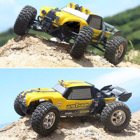 HBX 12891 1 12 4WD 2 4G Waterproof Hydraulic Damper RC Desert Buggy Truck With LED