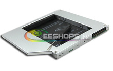 for HP Compaq 2510p 2710p 2230s NC2400 Laptop 2nd HDD SSD Caddy Internal Second Hard Disk Drive DVD Optical Bay Replacement Case