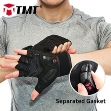 TMT Gym Gloves Crossfit Dumbbell Sports Weight Lifting Gloves Breathable Anti-Slip Gasket