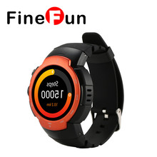 2017 Original Smart Watch MTK6580 Quad Core Heart Android 5.1 Rate 1.33″ 360*360px 480mAh Battery Wrist Band SmartWatch #A1421