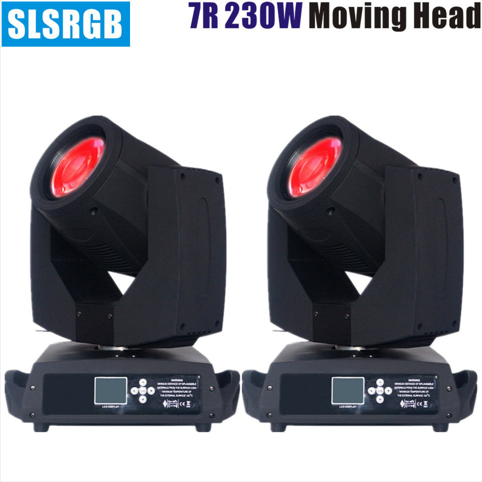 2pcs/lot stage lighting sharpy beam 230 7r 230 w sharpy 7r beam 230 moving head light Professional 7R moving head sharpy beam