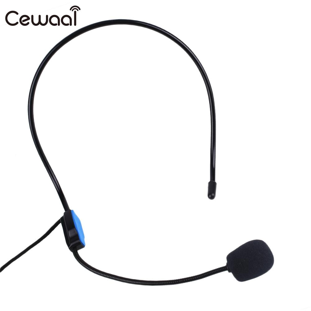 Teacher Wired Head Mounted Headset Microphone For