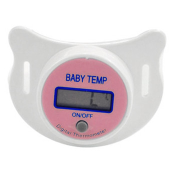 LCD Digital Mouth Nipple Pacifier Chupeta Termometro Testa Baby Nipple Thermometer Termometro functional Baby Pacifier 8