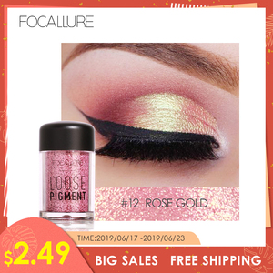 FOCALLURE 18 Colors Glitter Eye Shadow Cosmetic Makeup Diamo