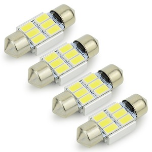 Image 2 - Safego 4x LED Festoon 31mm C5W 36mm LED canbus 6SMD 42mm LED 9 SMD 5630 Car Interior Dome Lamp License Plate Light Reading Bulbs