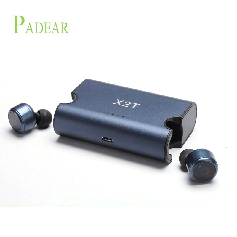 2017 Wireless Earbuds Twins X2T Mini Bluetooth bluetooth earphone headphone  Stereo with Magnetic Charger Box Case panasonic nn gt261wzpe