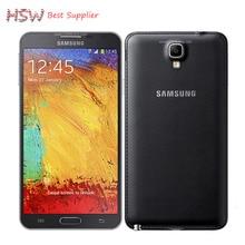 """100% Оригинал Samsung Galaxy Note 3 Neo N750 Мобильный Телефон Quad Core 5.5 """"8MP 3 Г WIFI GPS примечание 3 neo сотовый телефон"""