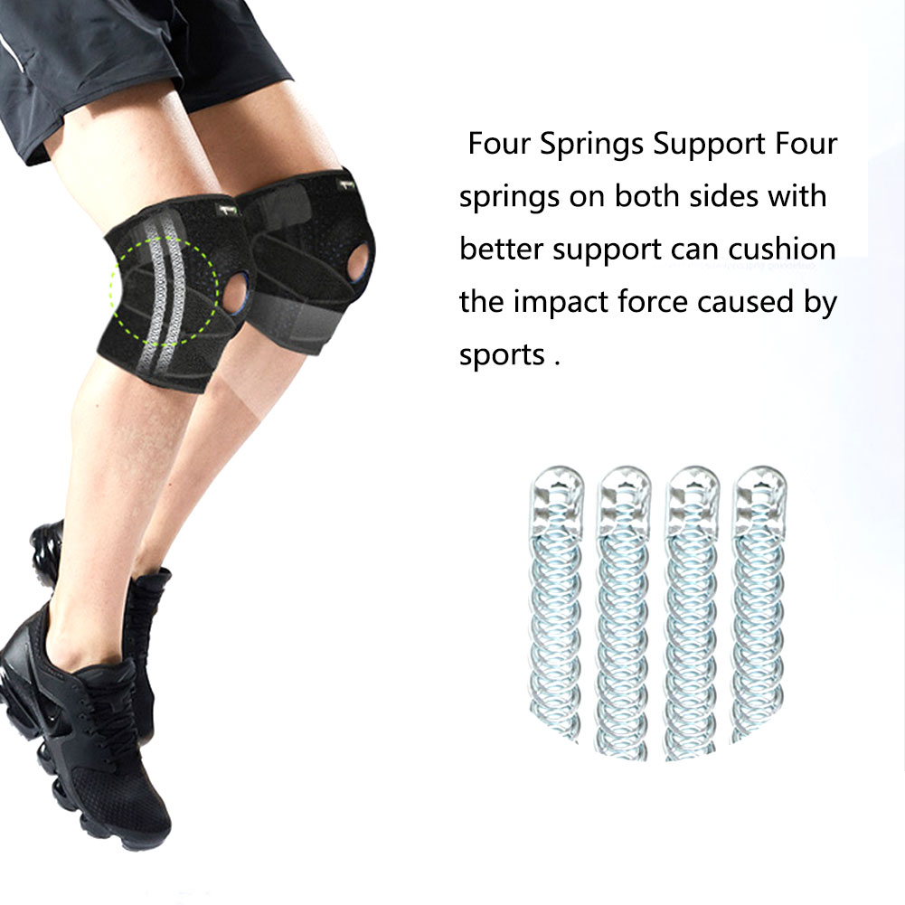 2018 New Sports activities Knee Pads Out of doors Climbing Biking Health Basketball Sporting Items Adjustable Protecting Gear Working HTB1ck2qBvuSBuNkHFqDq6xfhVXaZ