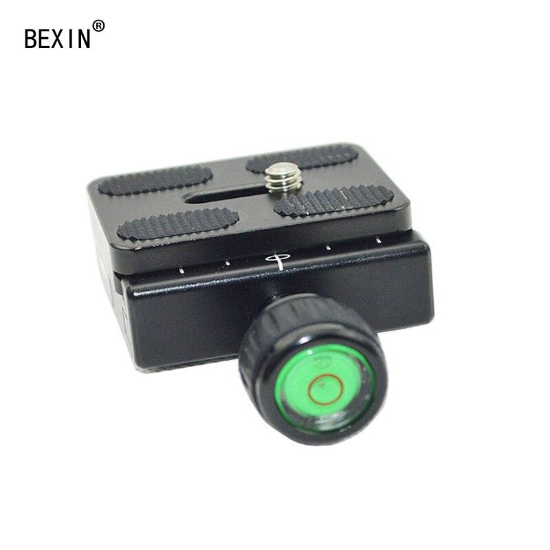BEXIN QR50 штатив с шаровой головкой адаптер pu50 RRS quick shot быстросъемный зажим пластина зажим для Arca swiss dslr сферическая головка с камерой