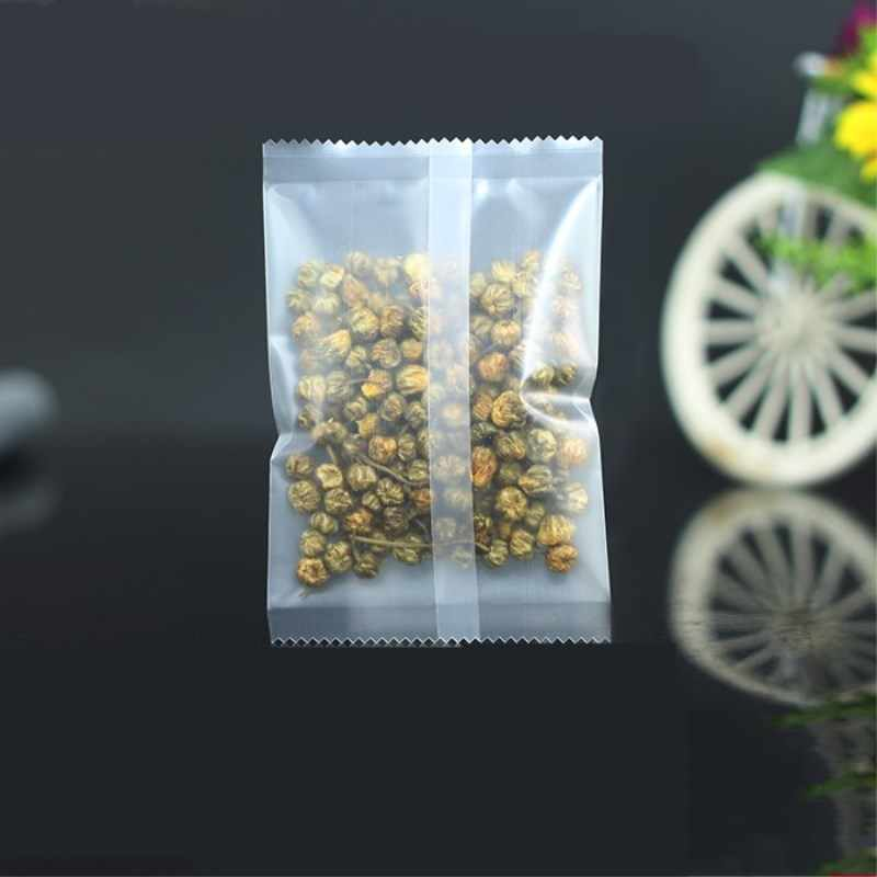HARDIRON Sealing Bag Baked Scented Tea Fruit Tea PackagingTransparent Plastic Heat Sealing pouch Food Grade Flat Pockets