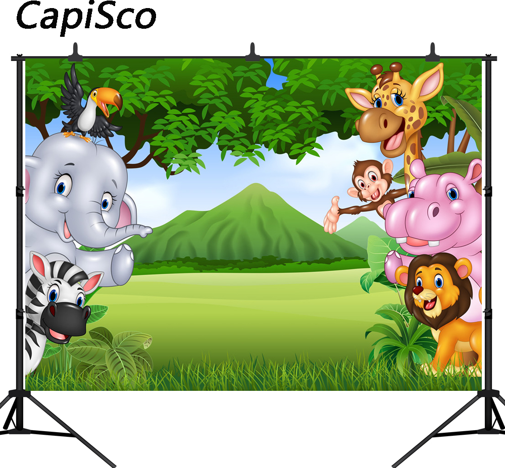 Camera & Photo Consumer Electronics Cartoon Animals Backdrop Little Yellow Duck Baby Shower Party Photo Background Newborn Cake Table Banner Decorations Props Online Shop