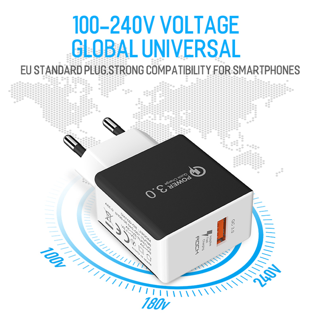 3.0 USB Quick Phone Charger