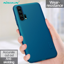 Huawei Honor 20 Pro Case NILLKIN Super Frosted Shield PC Plastic Hard Phone Cases For Huawei Honor 20 Pro Back Covers With Gift цена и фото