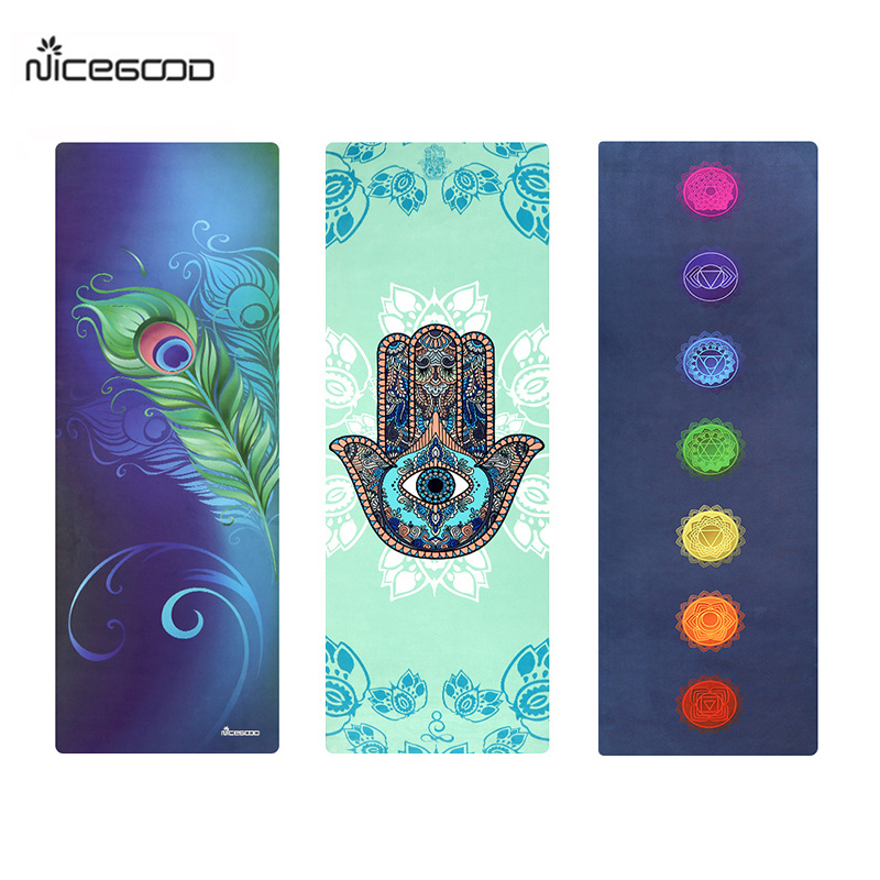 NICEGOOD Natural Rubber Yoga Mat 1780*610*3.5MM for Hot Yoga Pilates Tapete Fitness Gym Pad Non Slip Eco-friendly Sports Mat