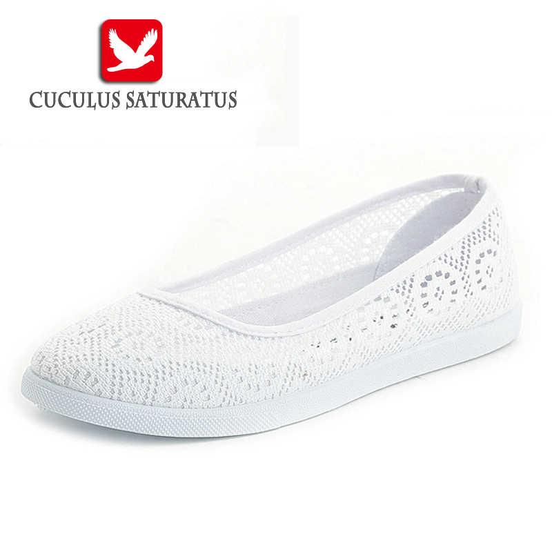 Cuculus Summer Women Shoes nurse shoes Casual Cutouts Lace Canvas Shoes Hollow Floral Breathable Platform Flat Shoes feminino436 dreamshining summer women shoes casual cutouts lace canvas shoes hollow floral breathable platform flat shoe sapato feminino
